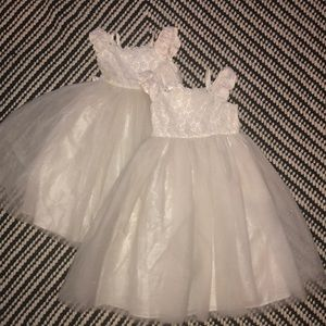 Lot 2 Flower Girl/ Formal toddler dresses